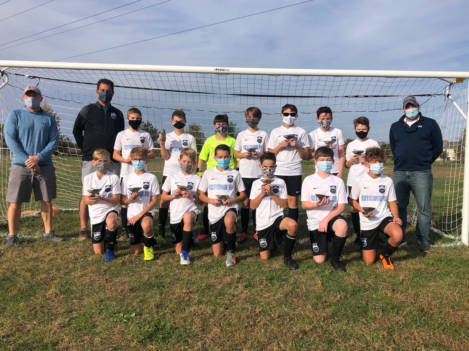 South United 08B Win Iron Valley Soccer Blast