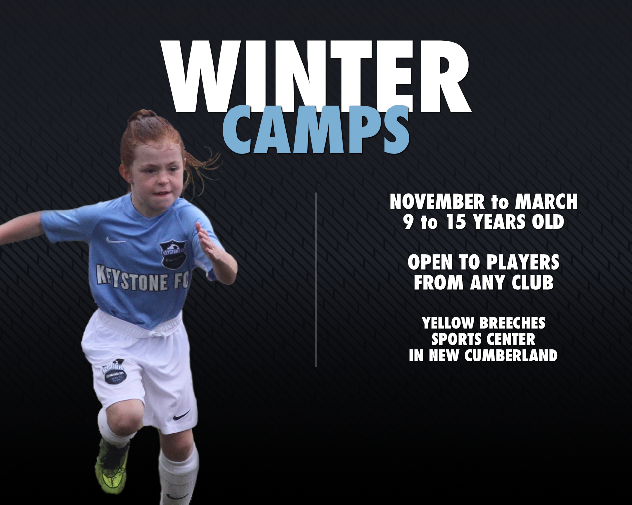 Winter Camp Registration Now Open