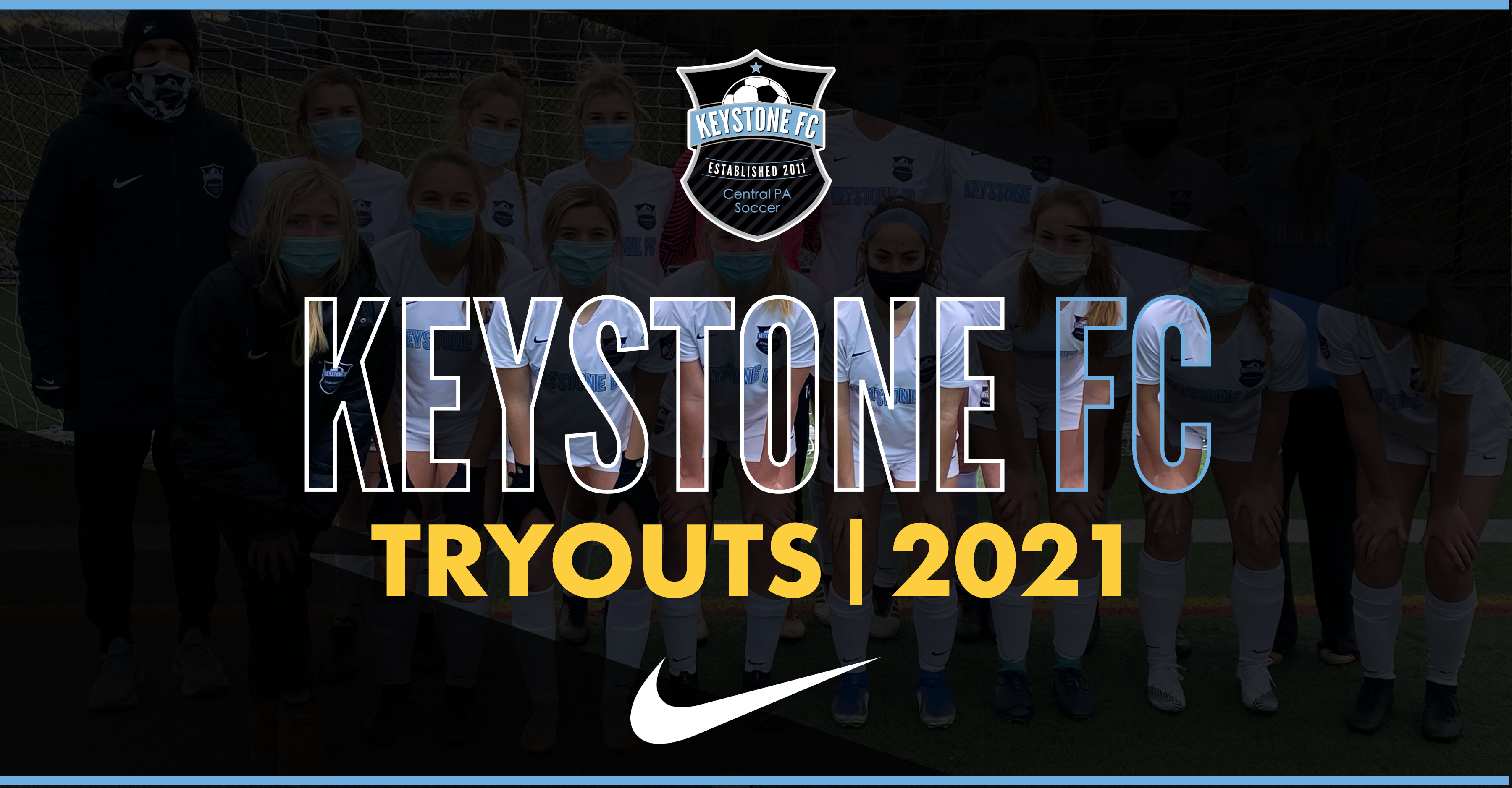 Tryout Registration 2021-22 Now Open